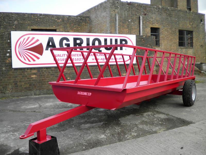 Agricultural Hay Feeder Trailer